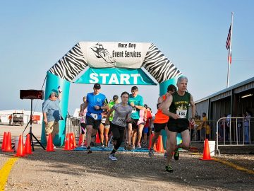 Possum Kingdom 2K Fun Walk  and 5K Run For 57th AHC