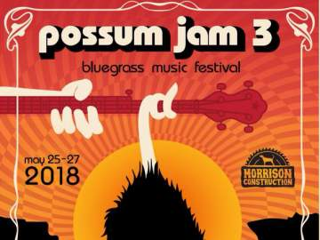 POSSUM JAM 3 Bluegrass Music Festival